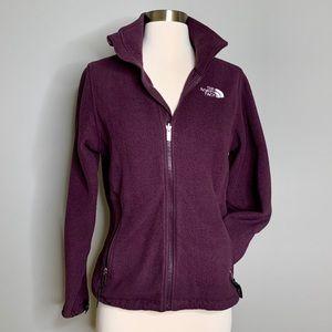 North Face Deep Purple Fleece Jacket